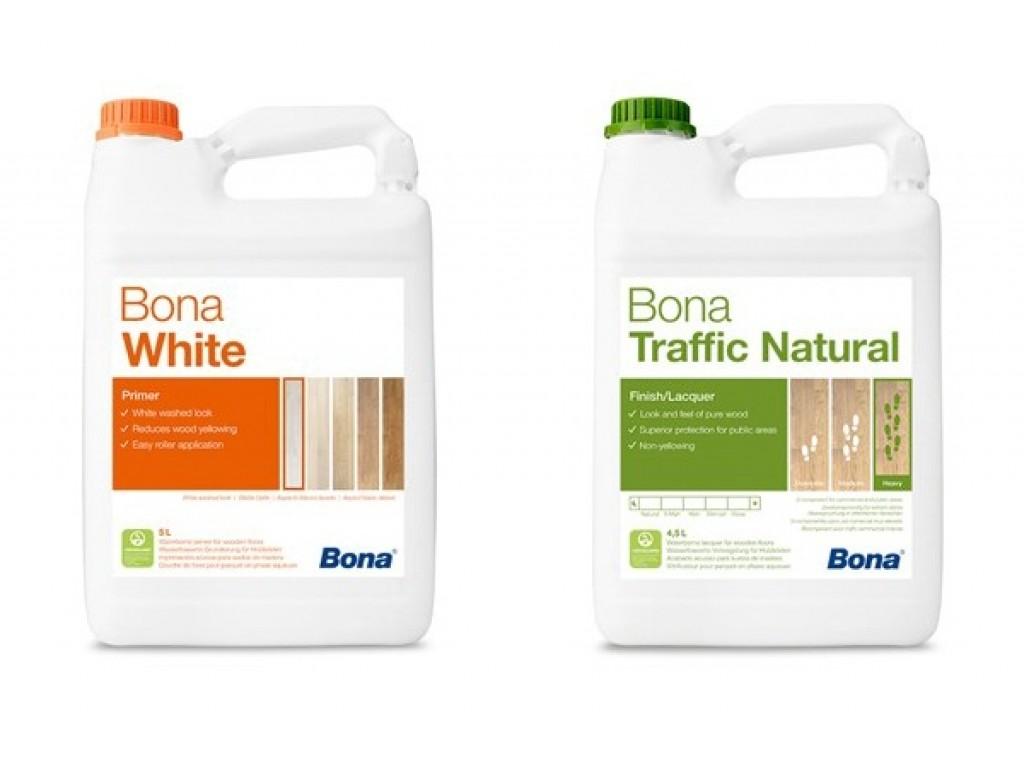 Renovácia podlahy BONA Traffic Natural