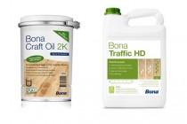 Renovácia podlahy BONA Craft Oil 2K-Traffic HD brúsenie parkiet