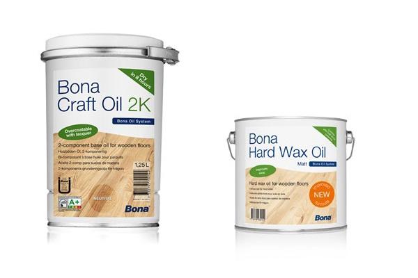 Renovácia podlahy BONA Craft Oil 2K-Hard Wax Oil