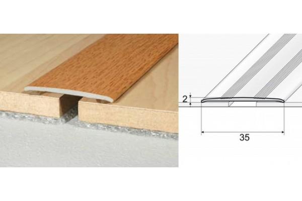 Prechodový profil A08-drevo samolepiaci