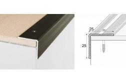 Schodový profil A40 na skrutku
