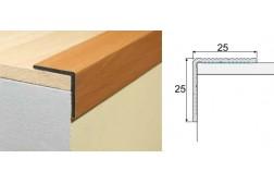 Schodový profil A40-drevo samolepiaci