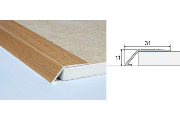 Nábehový profil A45-drevo