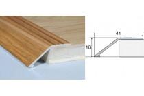 Nábehový profil A47-drevo