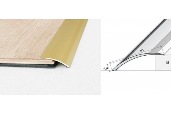 Nábehový profil A49-drevo