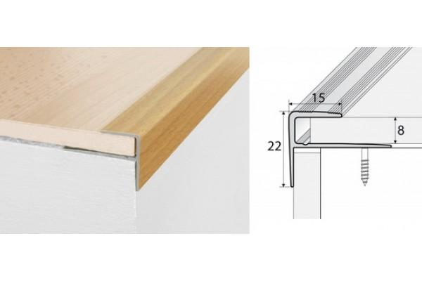 Schodový profil A60-drevo