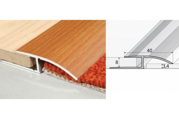 Nábehový profil A62-drevo