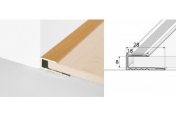 Ukončovací profil A63-drevo